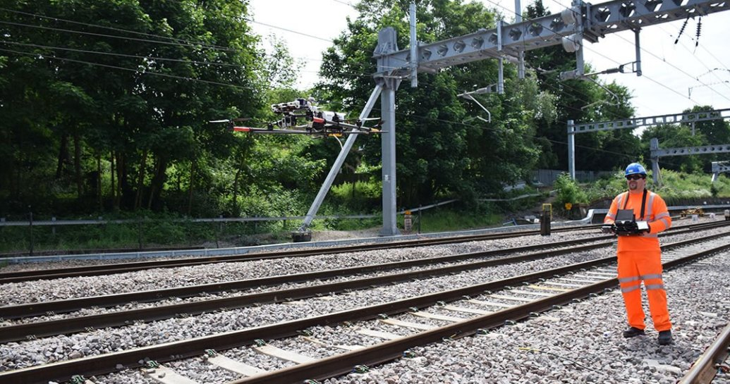 Use of drones for maintenance purposes by Network Rail
